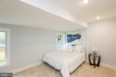 Master bedroom offers two large closets - 4424 HUNT PL NE, WASHINGTON