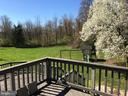 Rear View Off Deck - 17 VICTORIA LN, MARTINSBURG