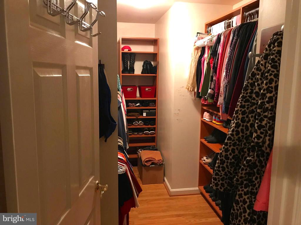 Large Walk In Closet with Organizer System - 17 VICTORIA LN, MARTINSBURG
