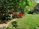 Large backyard - 876 N KENSINGTON ST, ARLINGTON