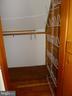 Master Bedroom Second walk-in closet - 876 N KENSINGTON ST, ARLINGTON