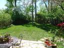 Backyard patio area - 876 N KENSINGTON ST, ARLINGTON