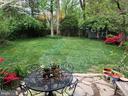 Large flat backyard - perfect for entertaining - 876 N KENSINGTON ST, ARLINGTON