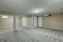 Basement Rec room - 6 CANDLERIDGE CT, STAFFORD