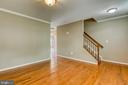 Gleaming hardwood floors - 6 CANDLERIDGE CT, STAFFORD