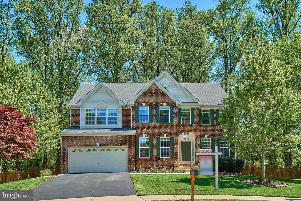 Home is surrounded by soaring mature trees! - 9216 ZACHARY CT, MANASSAS PARK
