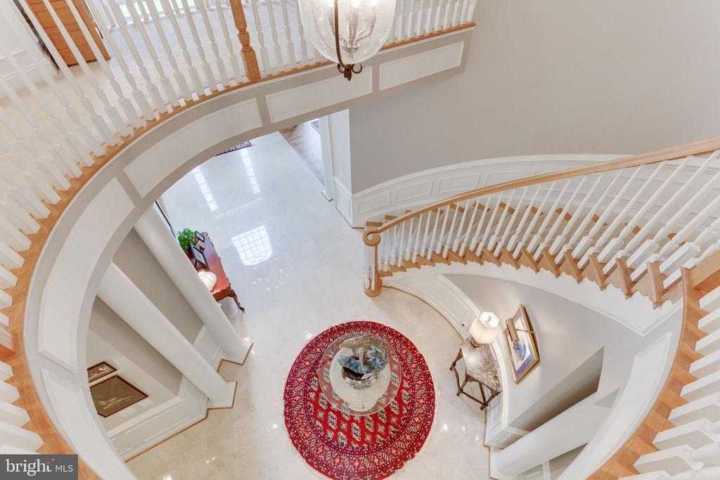 Staircase - 3166 ARIANA DR, OAKTON