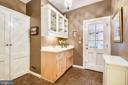 Butler's pantry - 104 TUNBRIDGE RD, BALTIMORE