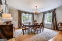 Plenty of natural light; banquet sized dining - 104 TUNBRIDGE RD, BALTIMORE