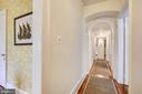 Arched architecture throughout - 104 TUNBRIDGE RD, BALTIMORE