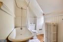 Full bath on upper level - 104 TUNBRIDGE RD, BALTIMORE
