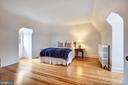 Bedroom on upper level with plenty of light - 104 TUNBRIDGE RD, BALTIMORE