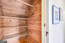 Cedar lined closet - 104 TUNBRIDGE RD, BALTIMORE