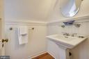 Full bath with clawfoot tub - 104 TUNBRIDGE RD, BALTIMORE