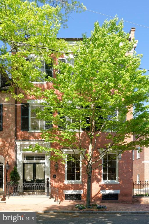 Magnificently restored & renovated historic beauty - 209 S SAINT ASAPH ST, ALEXANDRIA