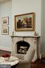 2 wood burning FPs with matching marble mantels - 209 S SAINT ASAPH ST, ALEXANDRIA