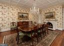 This regal dining room is gracious for hosting - 209 S SAINT ASAPH ST, ALEXANDRIA