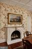 A marble mantel and period-style gas FP insert - 209 S SAINT ASAPH ST, ALEXANDRIA