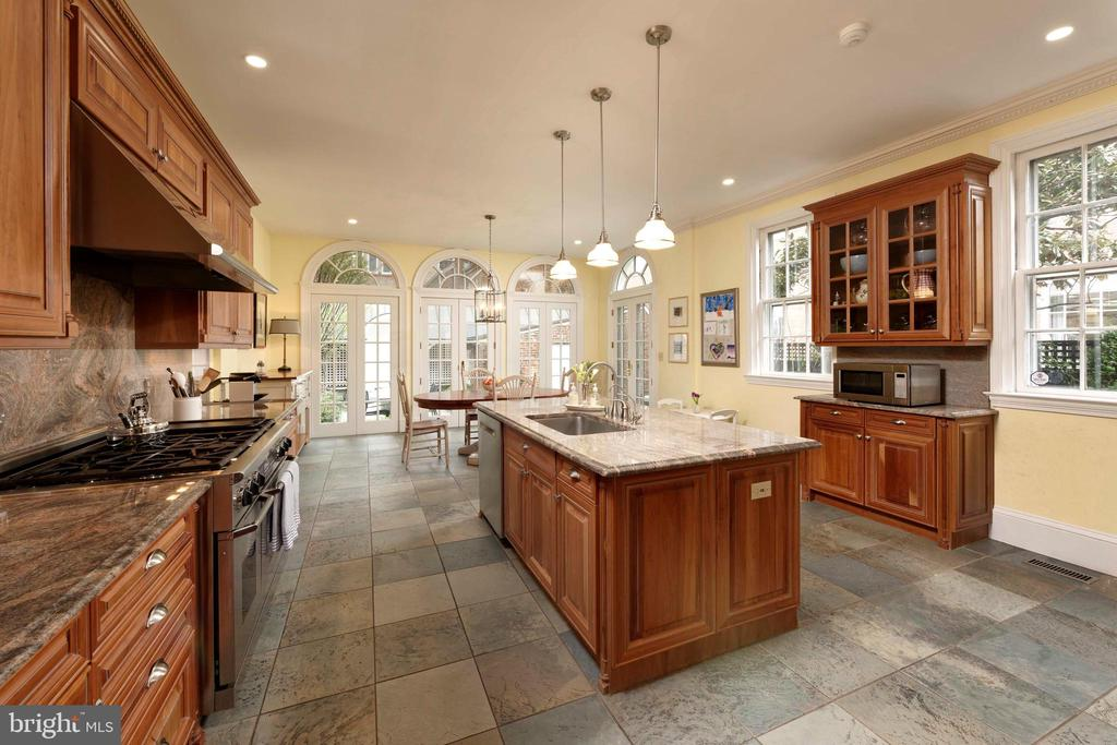 The Chef's kitchen is expansive & state-of-the-art - 209 S SAINT ASAPH ST, ALEXANDRIA