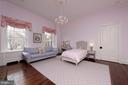 This bedroom adjoins the other guest bedroom - 209 S SAINT ASAPH ST, ALEXANDRIA