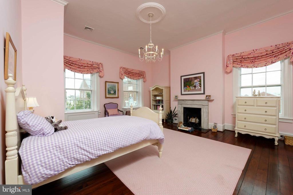 A substantial bedroom with high ceilings&HW floors - 209 S SAINT ASAPH ST, ALEXANDRIA