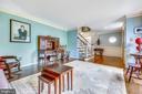 Living Room - 1410 WOODSIDE PKWY, SILVER SPRING