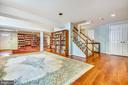 Lower Level Recreation Room - 1410 WOODSIDE PKWY, SILVER SPRING