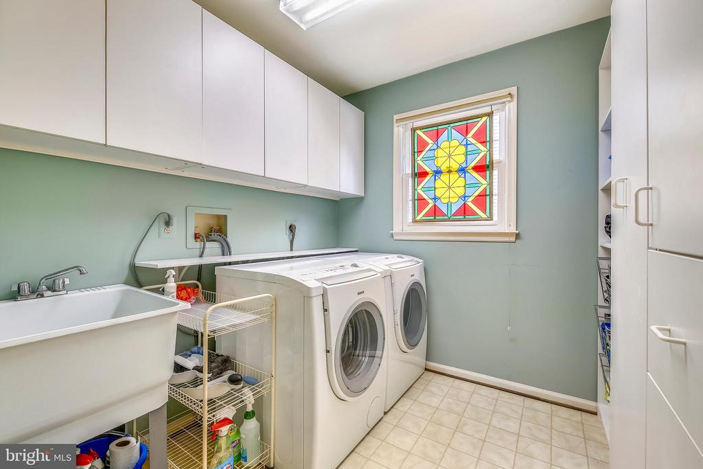 Main level laundry room - 1410 WOODSIDE PKWY, SILVER SPRING