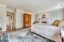 Master Bedroom - 1410 WOODSIDE PKWY, SILVER SPRING