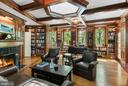 Library/Study - 5295 PARTRIDGE LN NW, WASHINGTON
