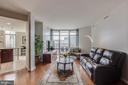 Living Room - 11990 MARKET ST #1411, RESTON