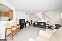NATURAL LIGHTS GALORE IN LIVING RM - 10794 SYMPHONY WAY #201, COLUMBIA