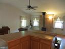 View from the kitchen to great room - 535 MONTICELLO CIR, LOCUST GROVE