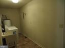 Laundry Room with utility sink - 535 MONTICELLO CIR, LOCUST GROVE