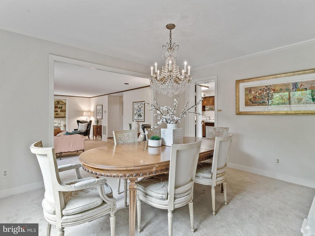 Dining Room - 11420 STRAND DR #R-113, NORTH BETHESDA