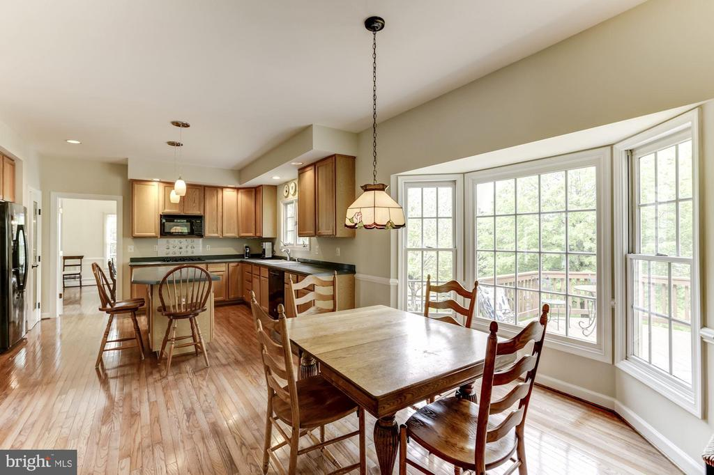 Kitchen and Breakfast Room - 11696 CARSON OVERLOOK CT, HERNDON