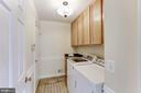 Main Level Laundry - 11696 CARSON OVERLOOK CT, HERNDON