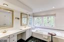 Master Bath - 11696 CARSON OVERLOOK CT, HERNDON