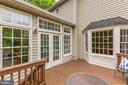 Main Level Deck - 11696 CARSON OVERLOOK CT, HERNDON