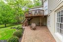 Brick Patio - 11696 CARSON OVERLOOK CT, HERNDON