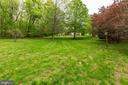 Back Yard - 11696 CARSON OVERLOOK CT, HERNDON