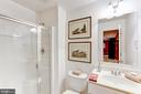 Lower Level Full Bath - 11696 CARSON OVERLOOK CT, HERNDON