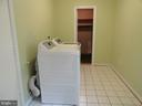 Laundry room - 5606 TILIA CT, BURKE