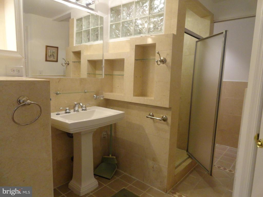 Basement full bath - 5606 TILIA CT, BURKE