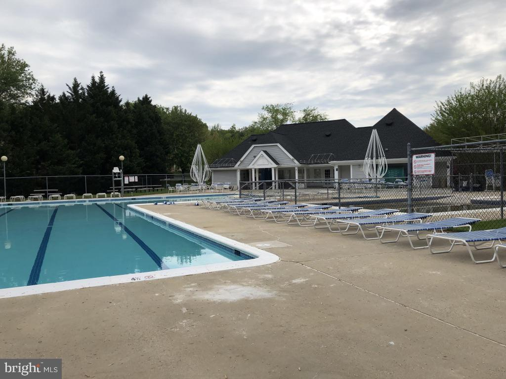 Swimmers will love the lap lanes - 12904 CHALKSTONE CT, FAIRFAX