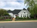 Community pool and clubhouse - 12904 CHALKSTONE CT, FAIRFAX