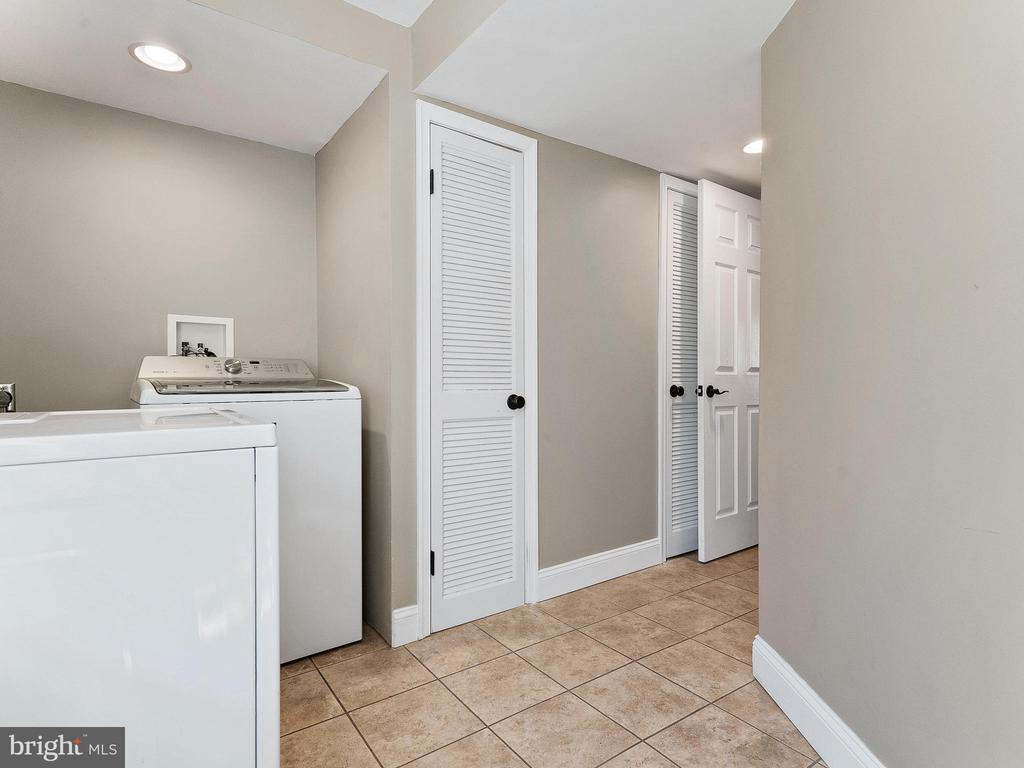 Lower Level Laundry Room - 6303 ZEKAN LN, SPRINGFIELD