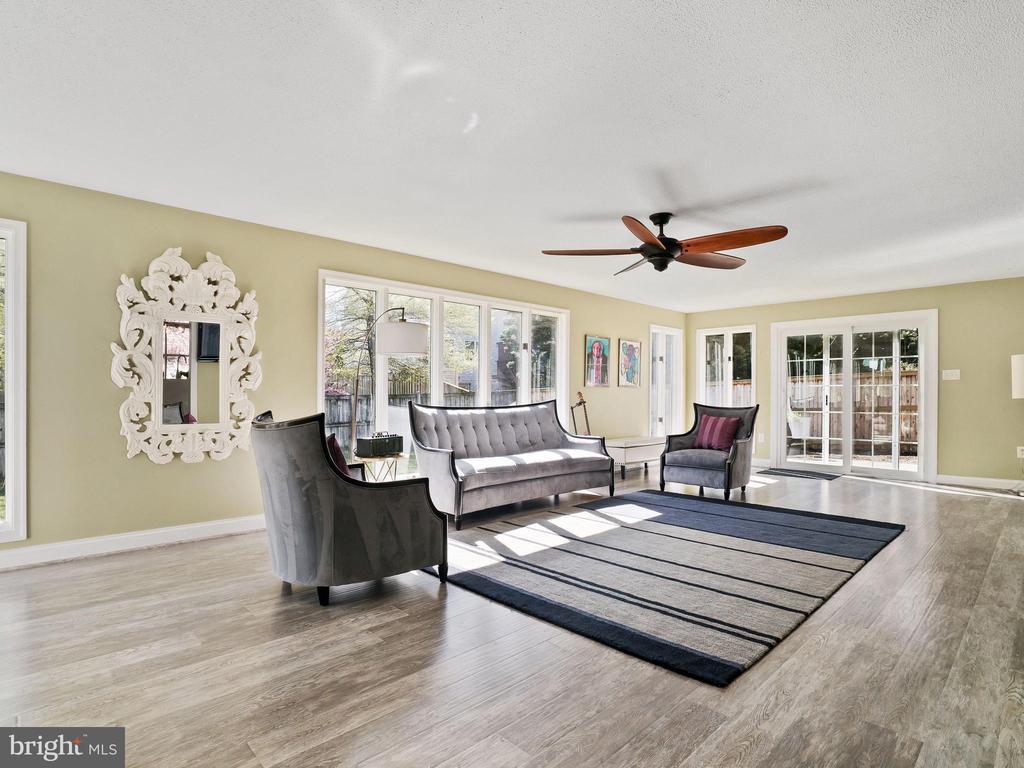 Open Concept Living Room - 6303 ZEKAN LN, SPRINGFIELD