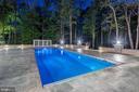 Beautiful  Salt Water Heated Pool - 7904 OAKSHIRE LN, FAIRFAX STATION