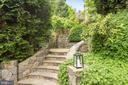 Step up from main patio to.... - 3216 N ABINGDON ST, ARLINGTON